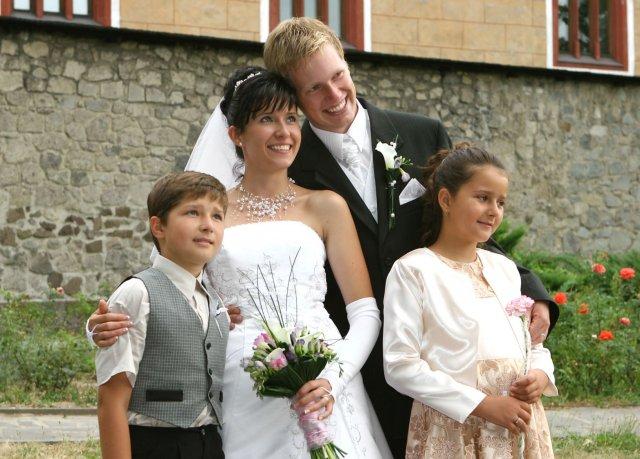 Lucka{{_AND_}}Paťko - s krstnými deťmi