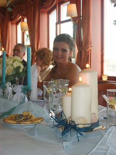 Sylvia & Tomáš - to bude svadbička - Takúto výzdobu sme nakoniec mali