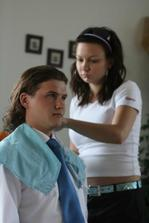Aj Tomáškovi s vlasmi pomáhala Deniska