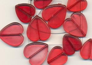 Cervena svatba 8. cervna 2006 - Plastova na dratku - opet paralela s motivem oznameni.