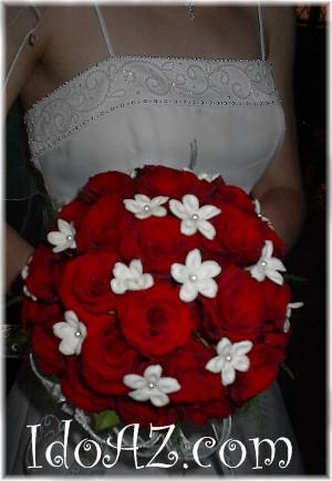 Cervena svatba 8. cervna 2006 - Ty bile potvory jsou urcite umele, ale je to pekne.