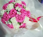 růžovo-bílá,