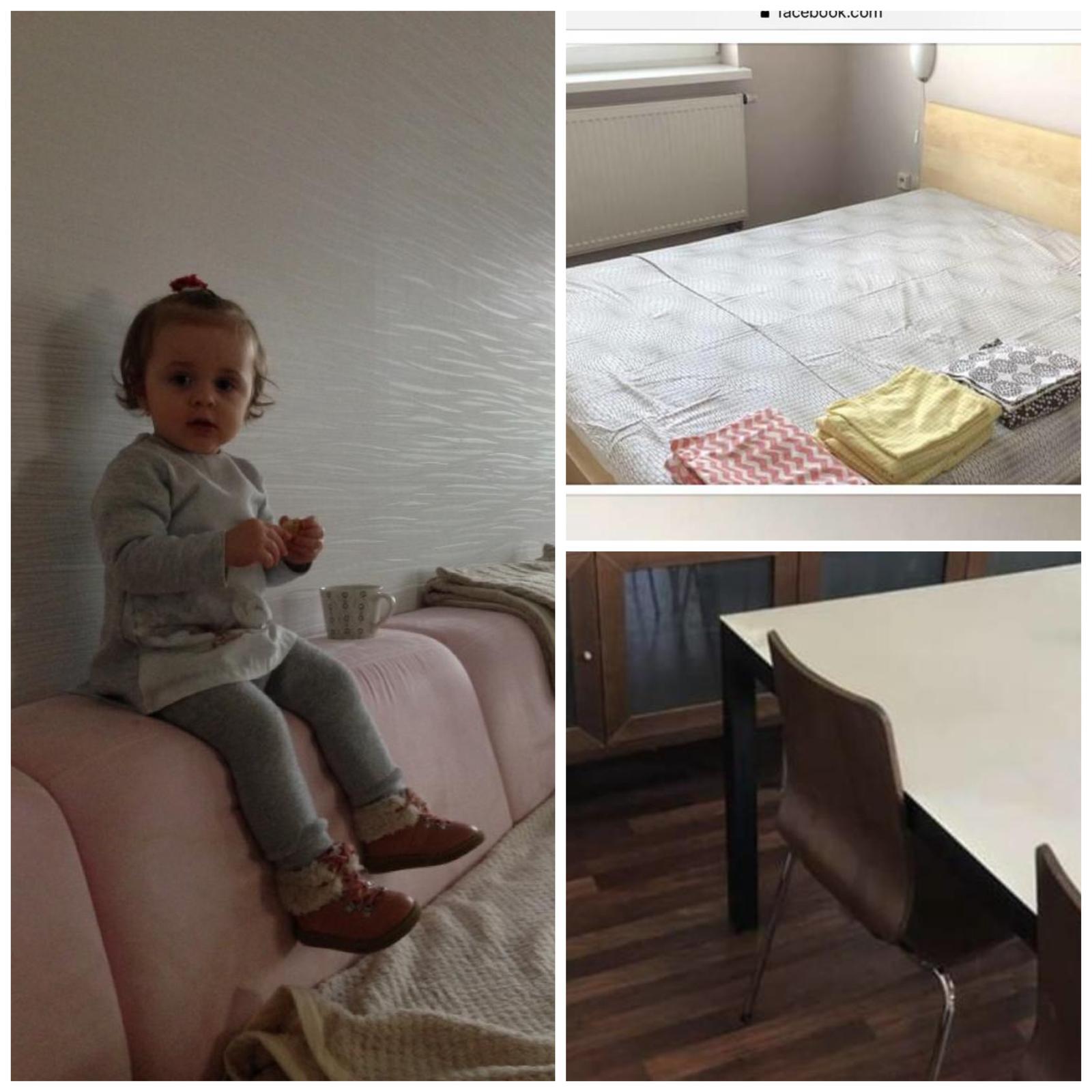 ikea postel.sedacka a stolicky - Obrázok č. 1