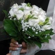 moja TOP favoritka v bielo-ruzovej kombinacii ruzi plus biele frezie