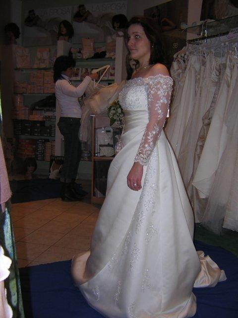 Kubko a Dzinko - šaty 14, najuzasnejsi zaber, kde vynikne krasa tychto siat, ked si odmyslite moju grimasu