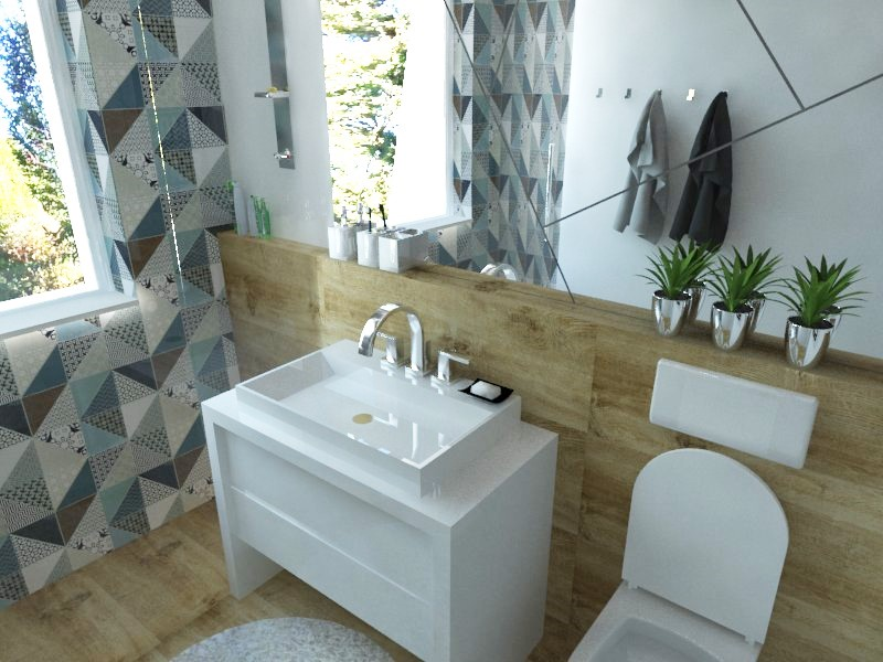 Kúpeľne- vizualizácie - Obrázok č. 19