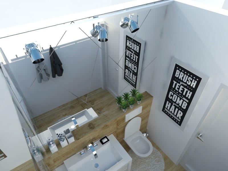 Kúpeľne- vizualizácie - Obrázok č. 23