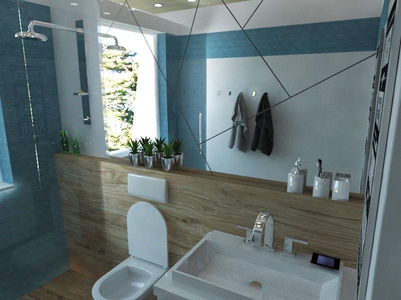 Kúpeľne- vizualizácie - Obrázok č. 26