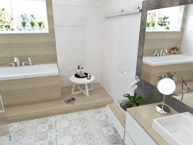 Kúpeľne- vizualizácie - Obrázok č. 28