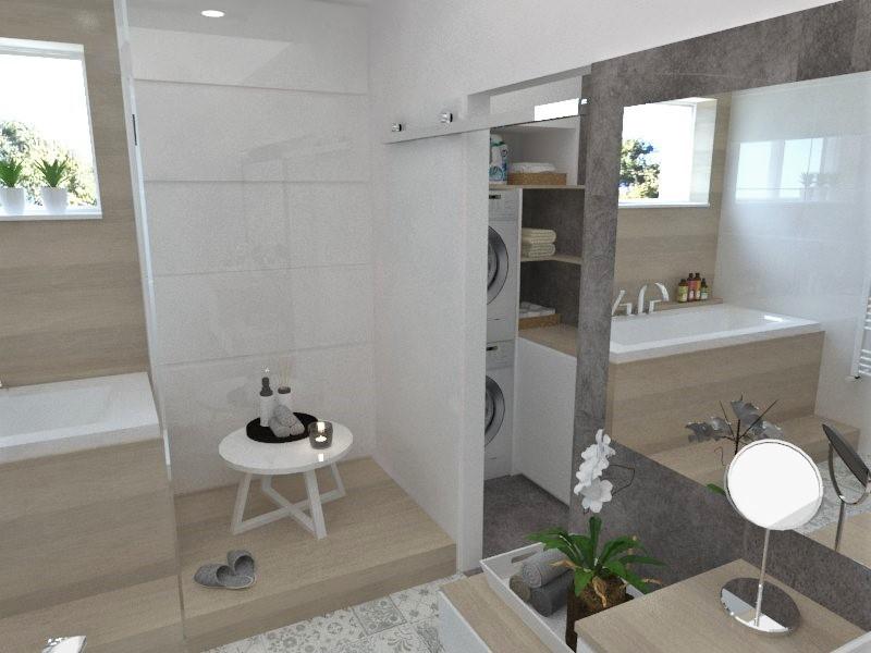 Kúpeľne- vizualizácie - Obrázok č. 31