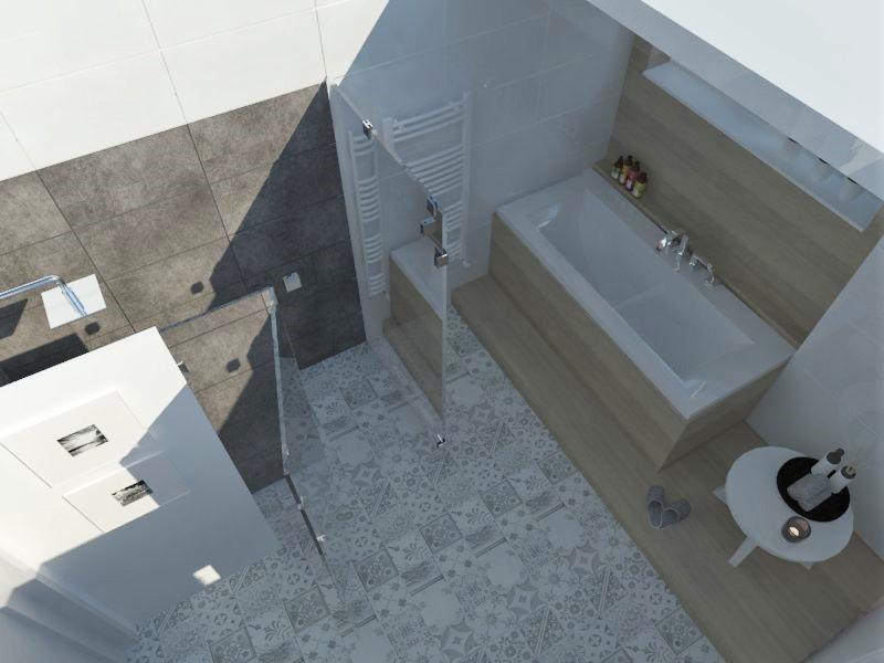Kúpeľne- vizualizácie - Obrázok č. 33