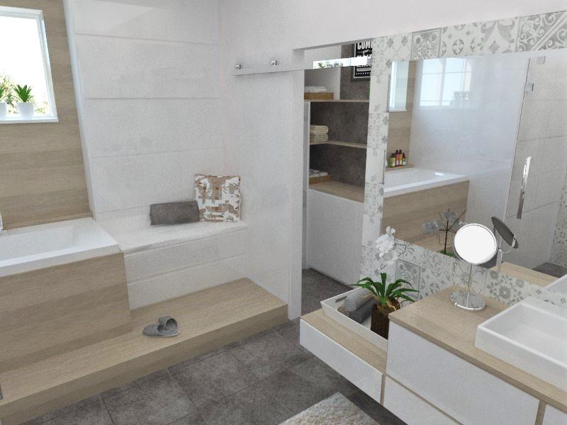 Kúpeľne- vizualizácie - Obrázok č. 43