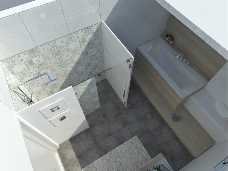 Kúpeľne- vizualizácie - Obrázok č. 47