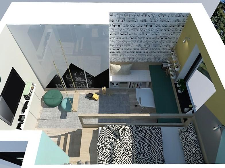 Detské a študentské izby- vizualizácie - Obrázok č. 124