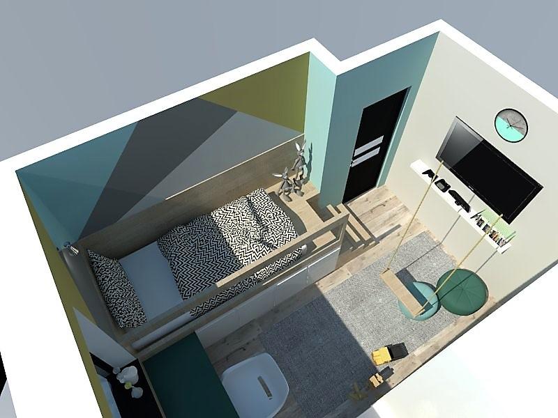 Detské a študentské izby- vizualizácie - Obrázok č. 125