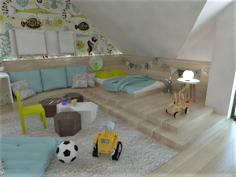 Detské a študentské izby- vizualizácie - Obrázok č. 127