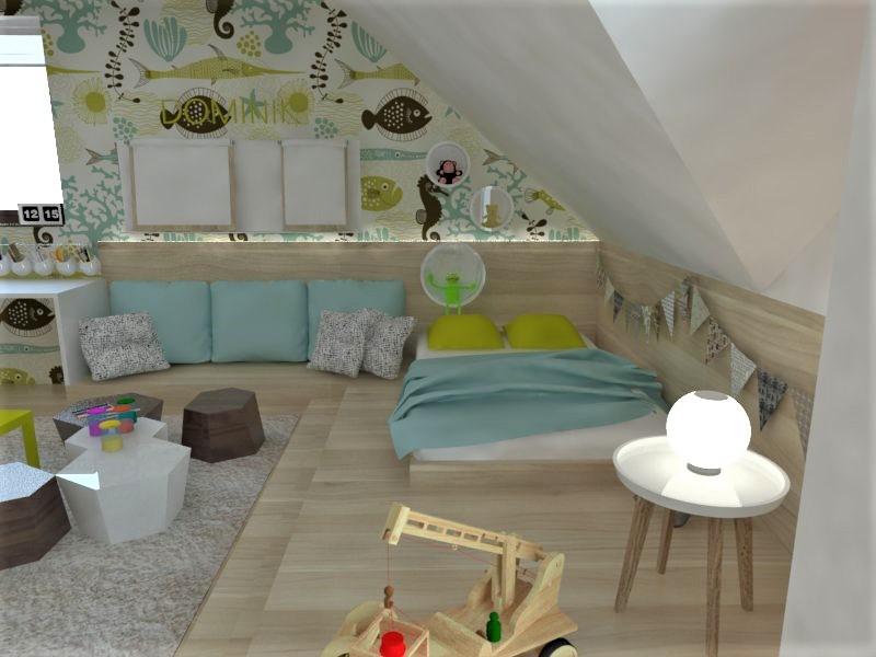 Detské a študentské izby- vizualizácie - Obrázok č. 130