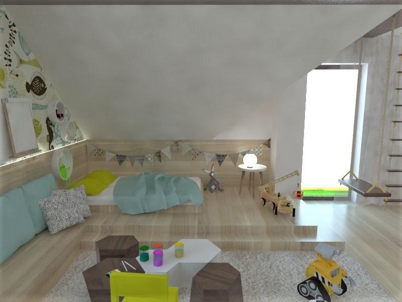Detské a študentské izby- vizualizácie - Obrázok č. 135