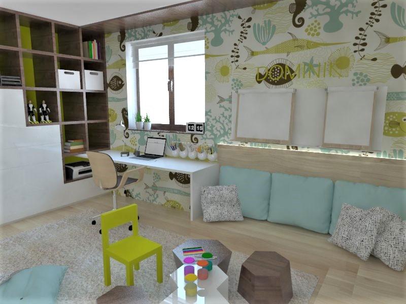 Detské a študentské izby- vizualizácie - Obrázok č. 136
