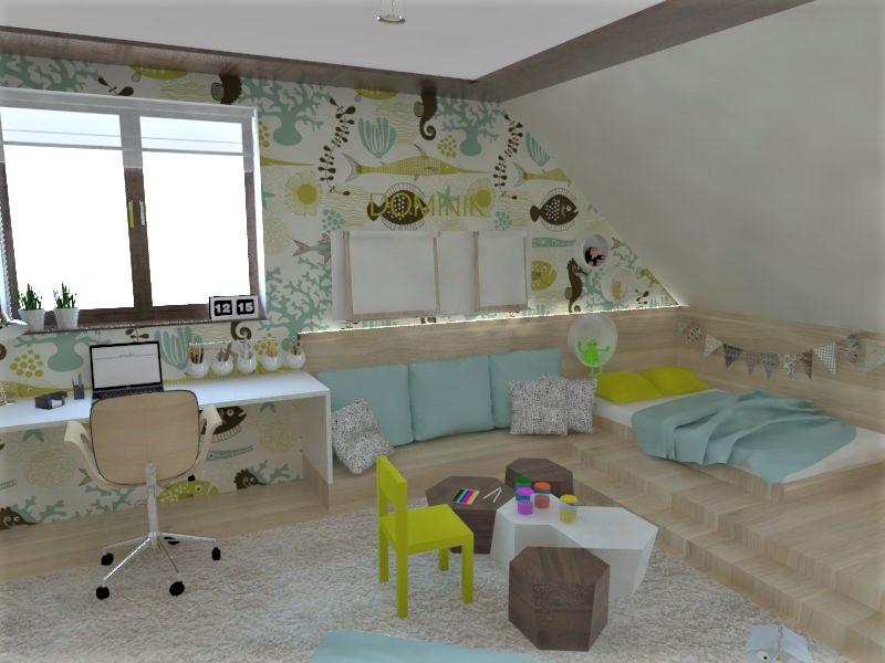 Detské a študentské izby- vizualizácie - Obrázok č. 137