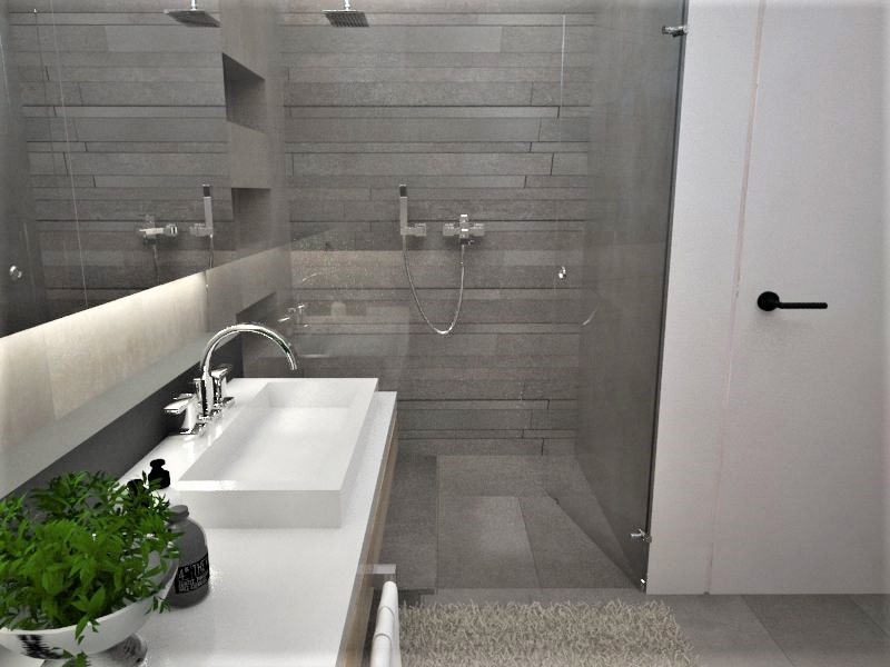 Kúpeľne- vizualizácie - Obrázok č. 65