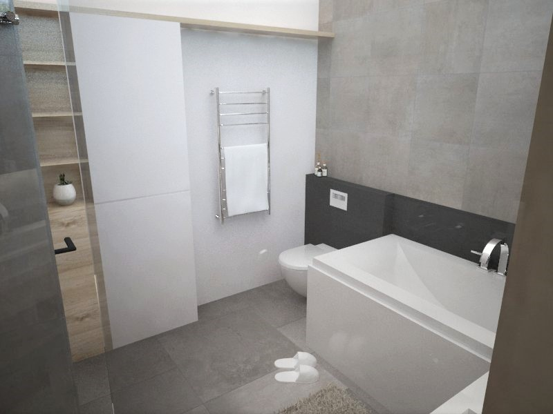 Kúpeľne- vizualizácie - Obrázok č. 67