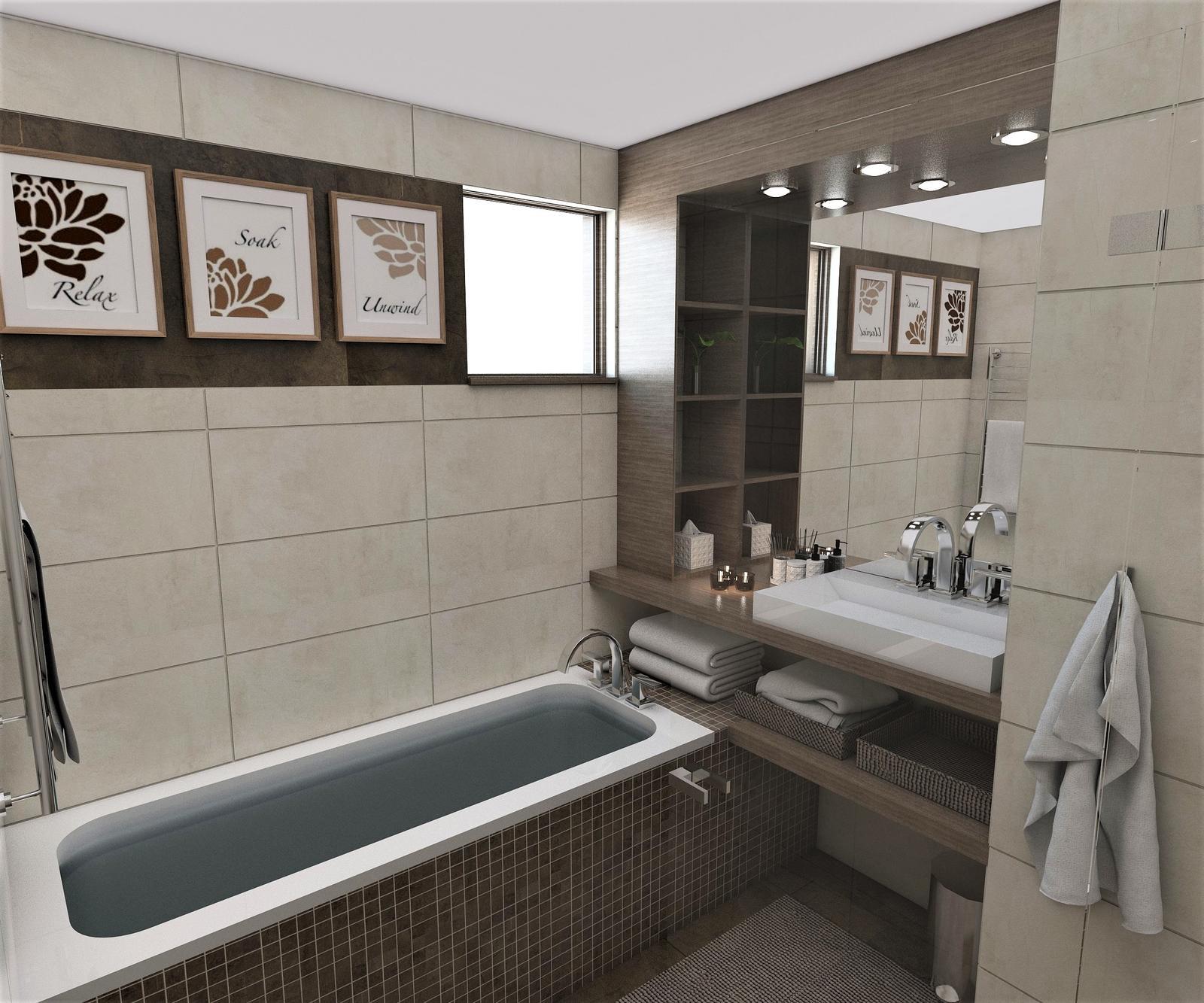 Kúpeľne- vizualizácie - Obrázok č. 68