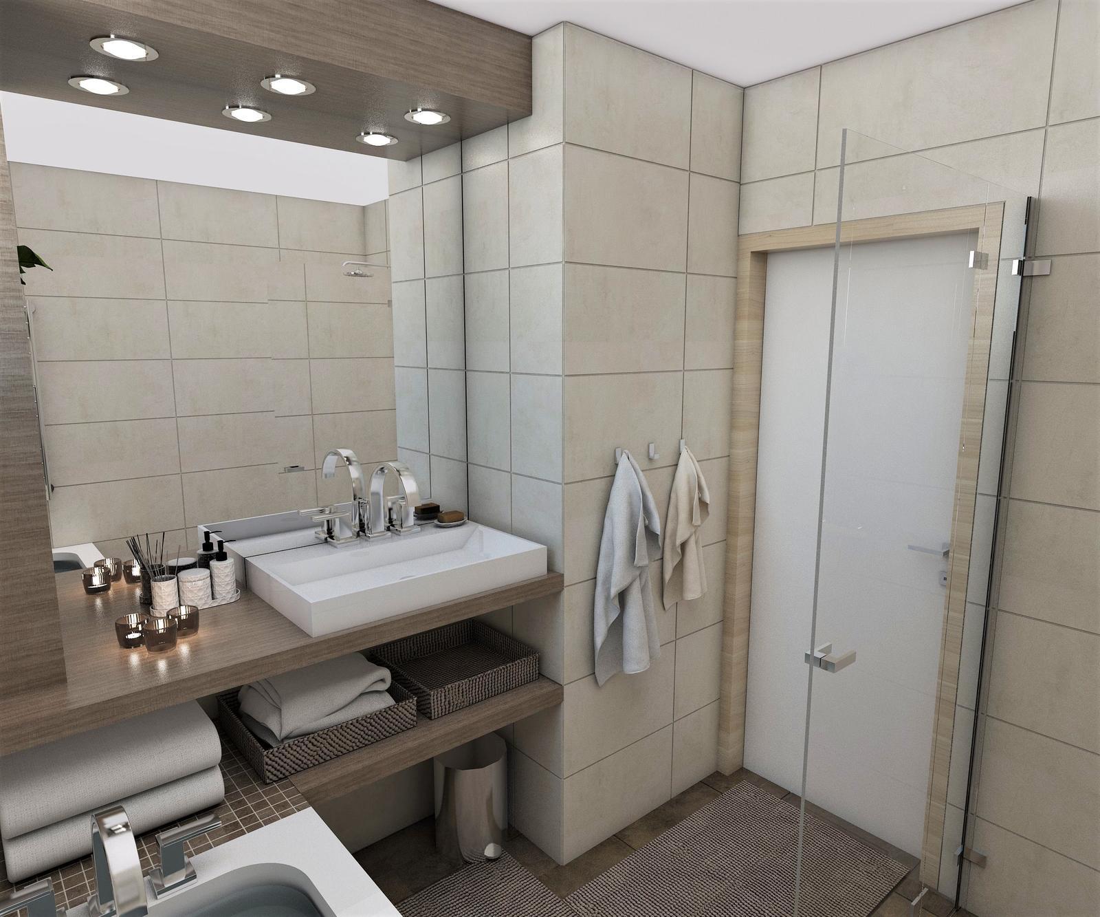Kúpeľne- vizualizácie - Obrázok č. 69