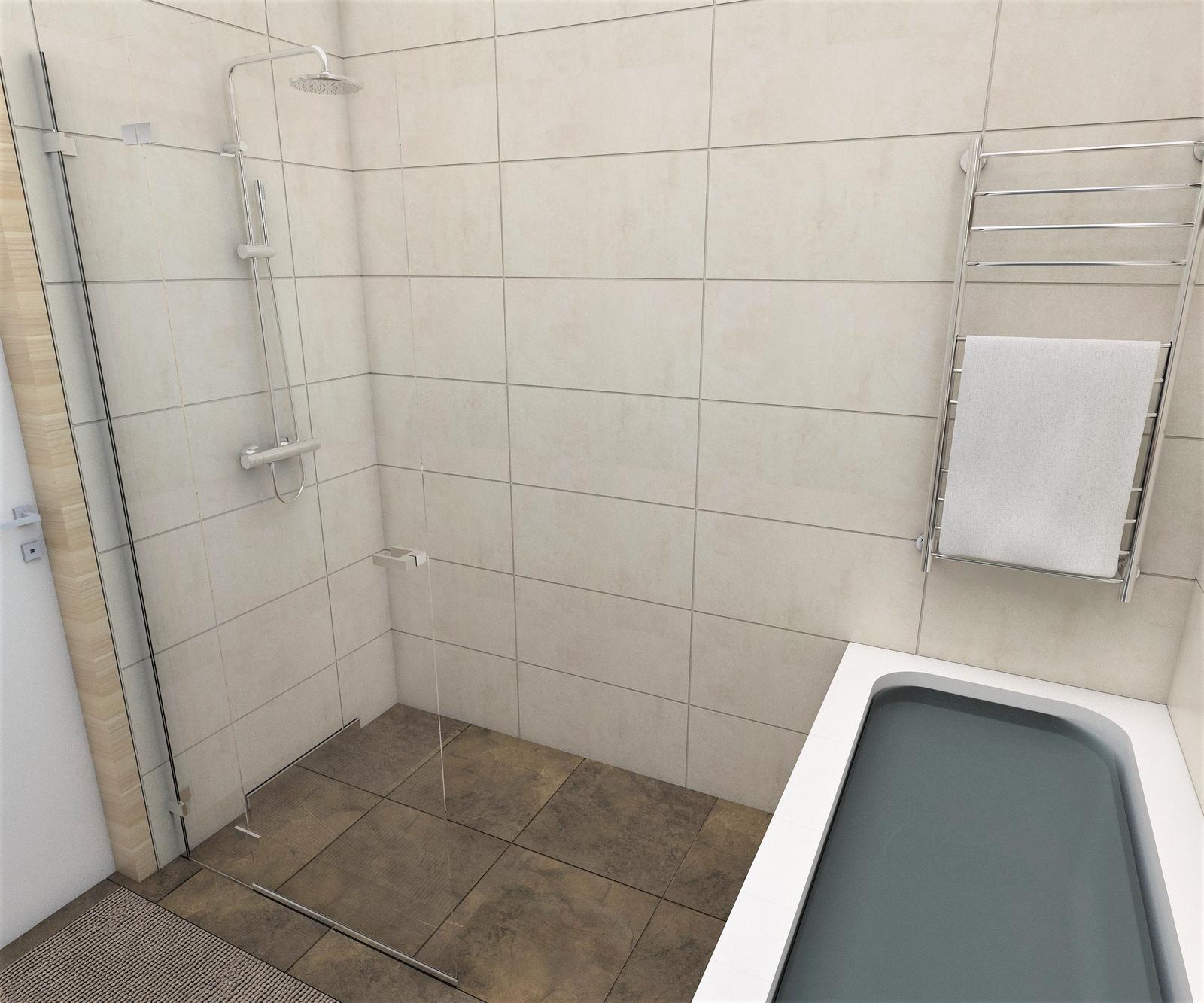 Kúpeľne- vizualizácie - Obrázok č. 70