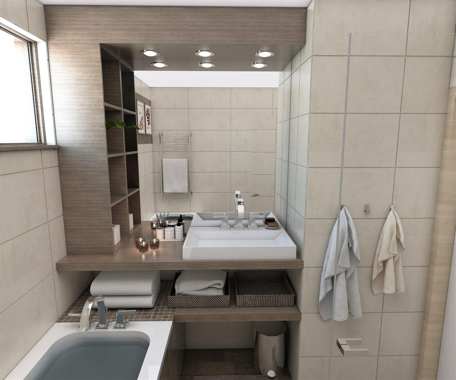 Kúpeľne- vizualizácie - Obrázok č. 71