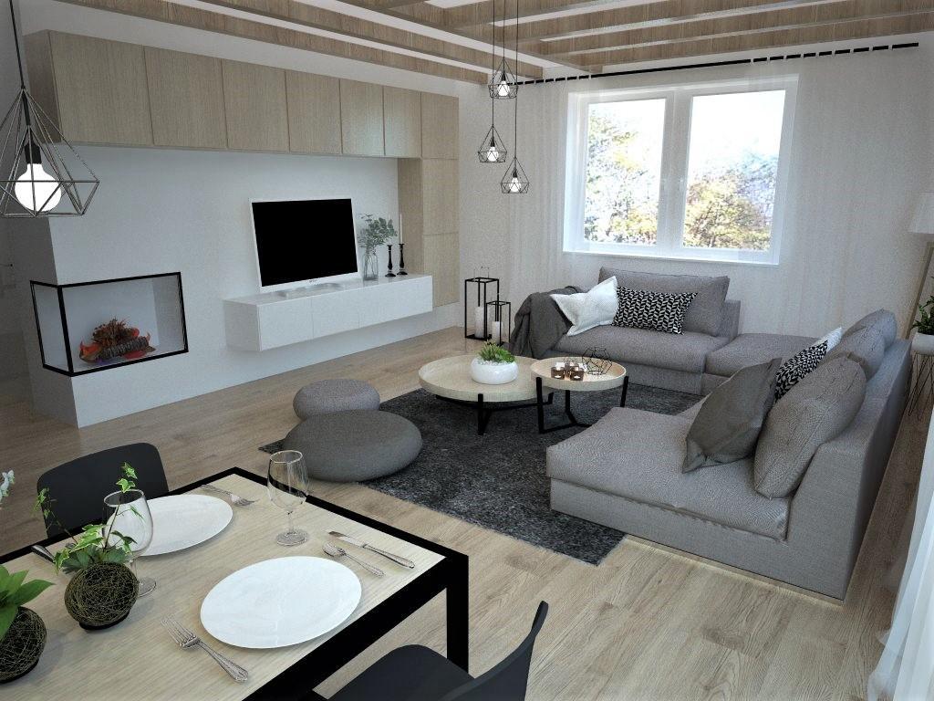 Kuchyňo- obývačky, vizualizácie - Obrázok č. 119