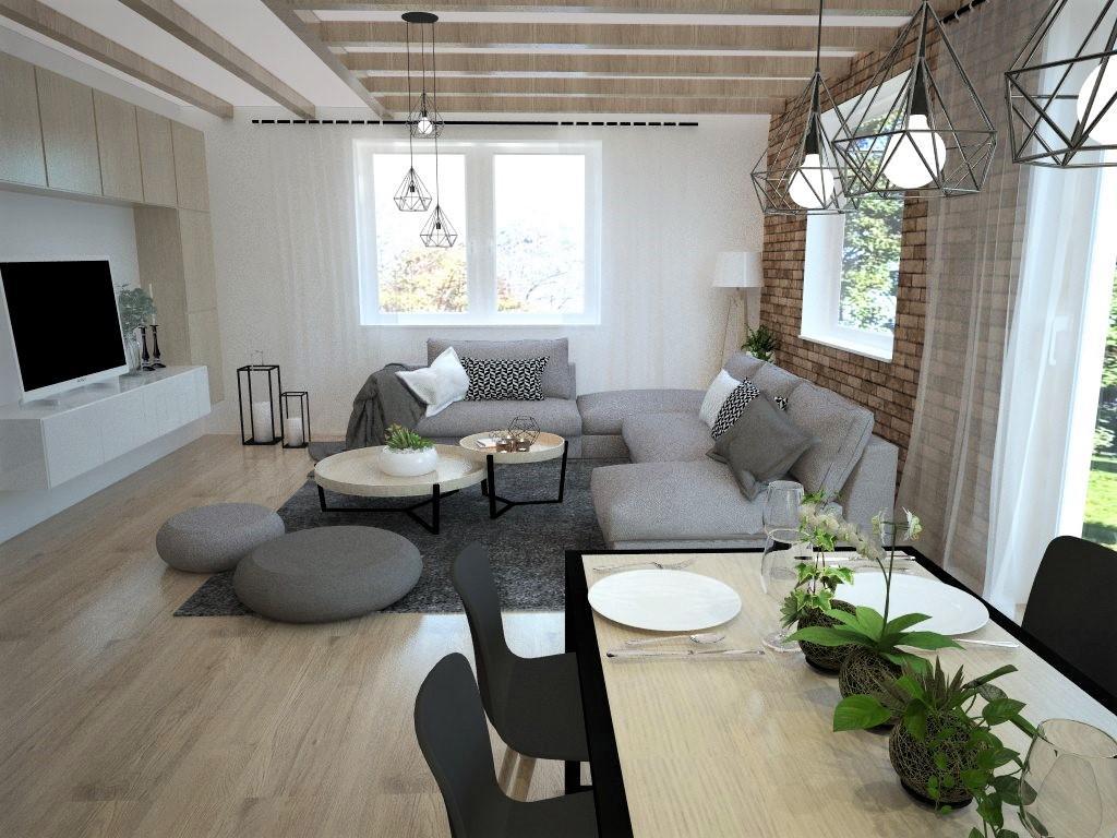Kuchyňo- obývačky, vizualizácie - Obrázok č. 120