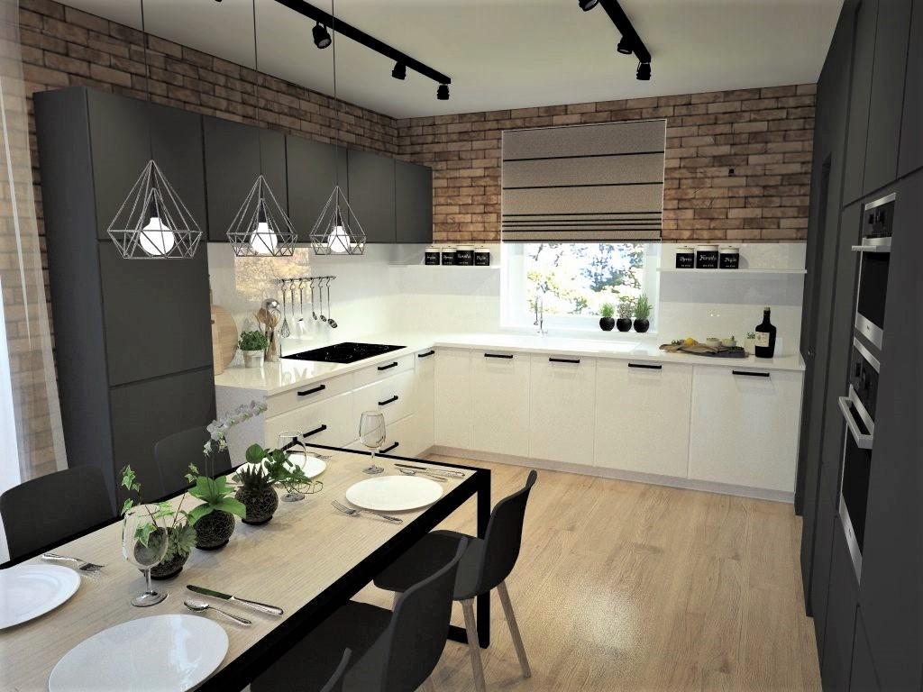 Kuchyňo- obývačky, vizualizácie - Obrázok č. 124