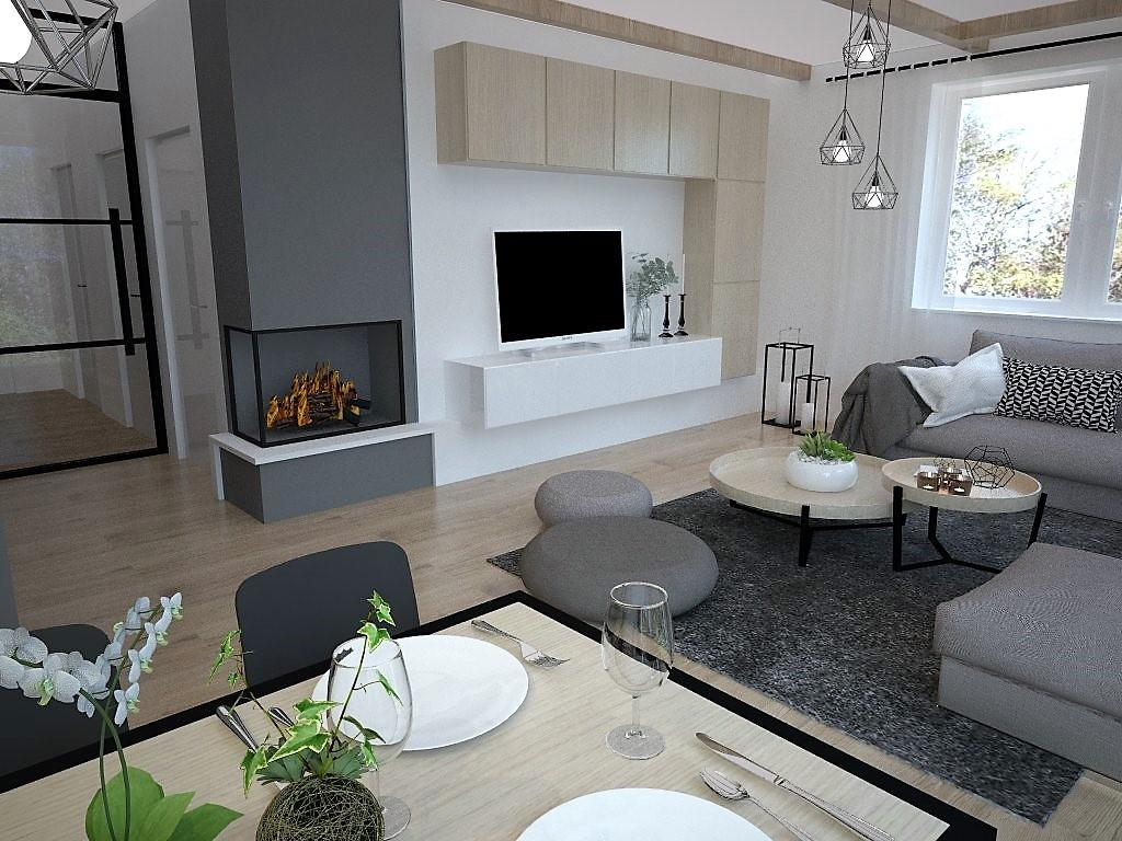 Kuchyňo- obývačky, vizualizácie - Obrázok č. 126