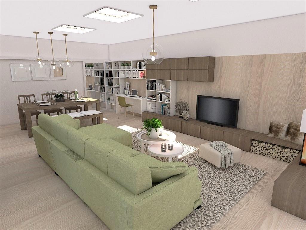 Kuchyňo- obývačky, vizualizácie - Obrázok č. 134