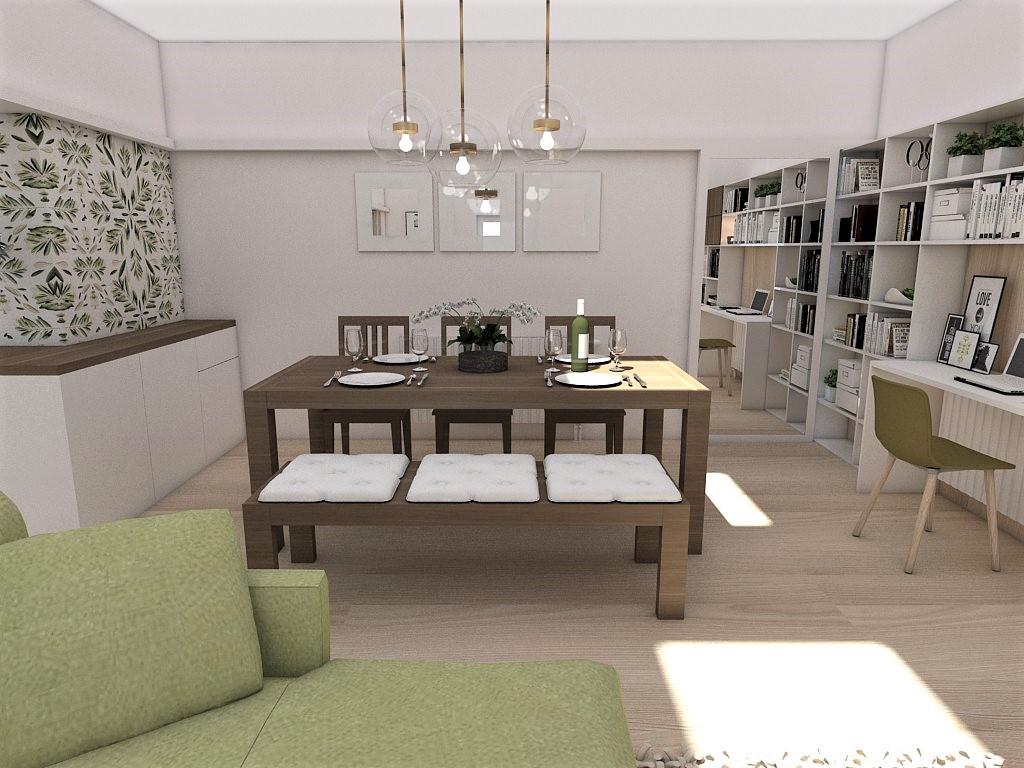 Kuchyňo- obývačky, vizualizácie - Obrázok č. 138
