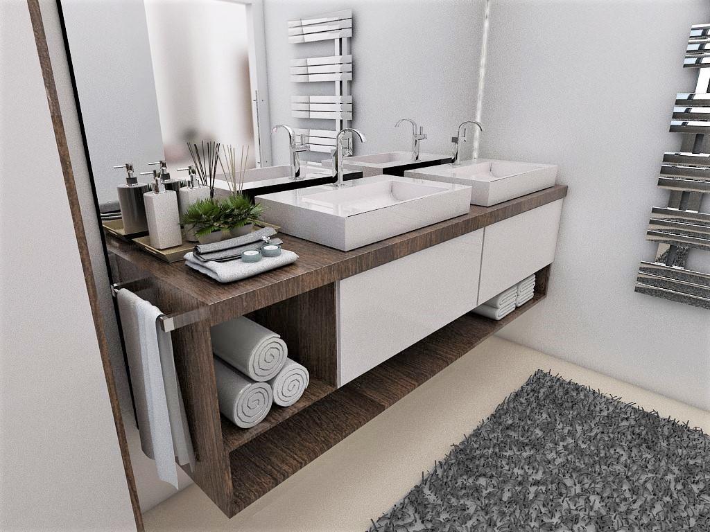 Kúpeľne- vizualizácie - Obrázok č. 78