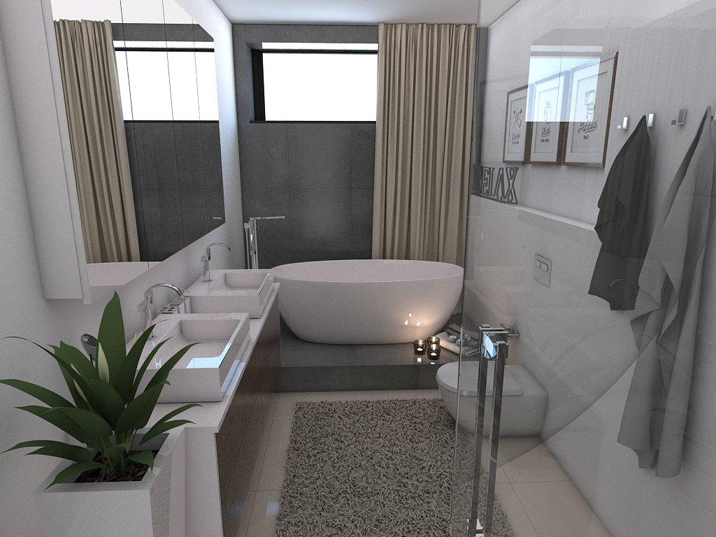 Kúpeľne- vizualizácie - Obrázok č. 80