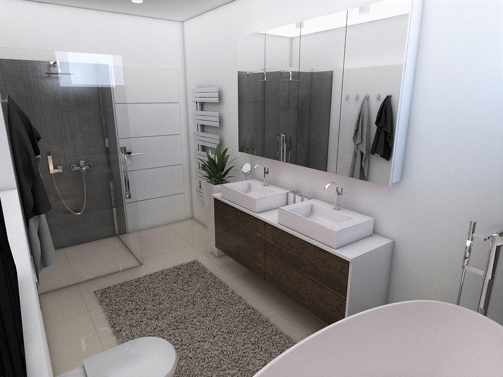 Kúpeľne- vizualizácie - Obrázok č. 82