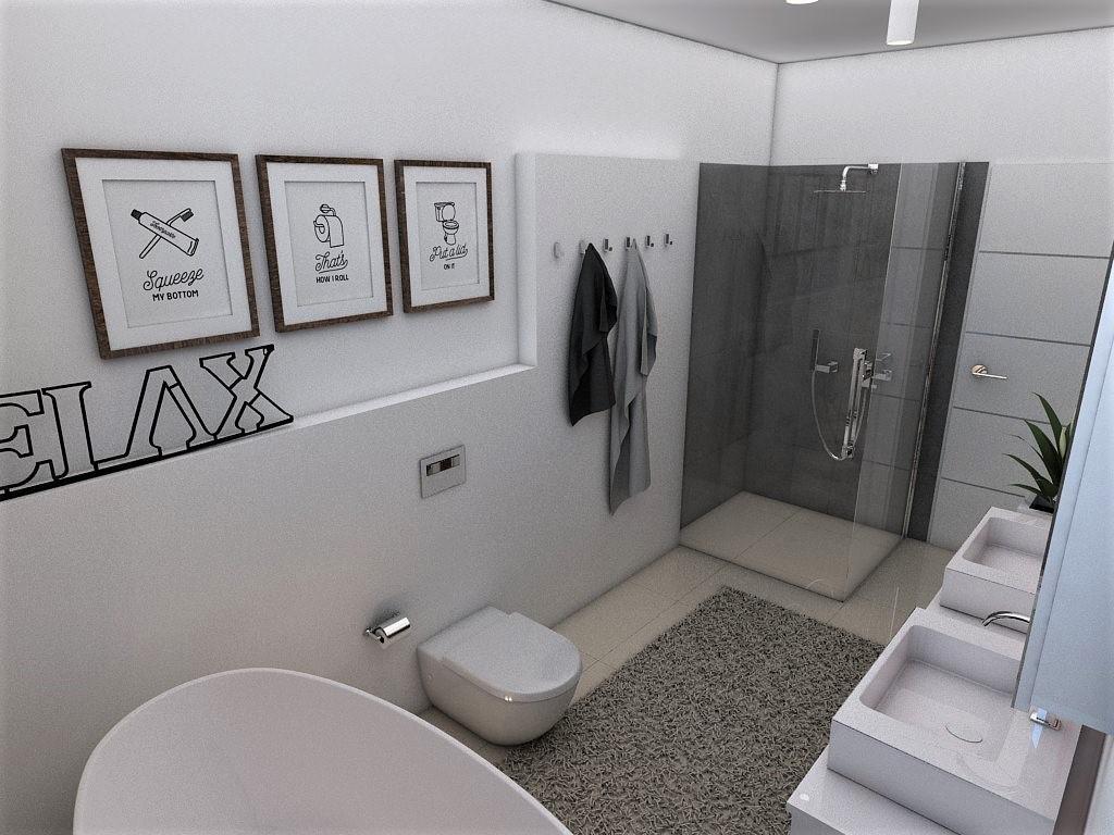 Kúpeľne- vizualizácie - Obrázok č. 84