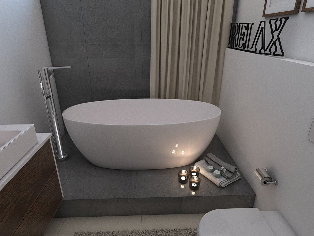 Kúpeľne- vizualizácie - Obrázok č. 86