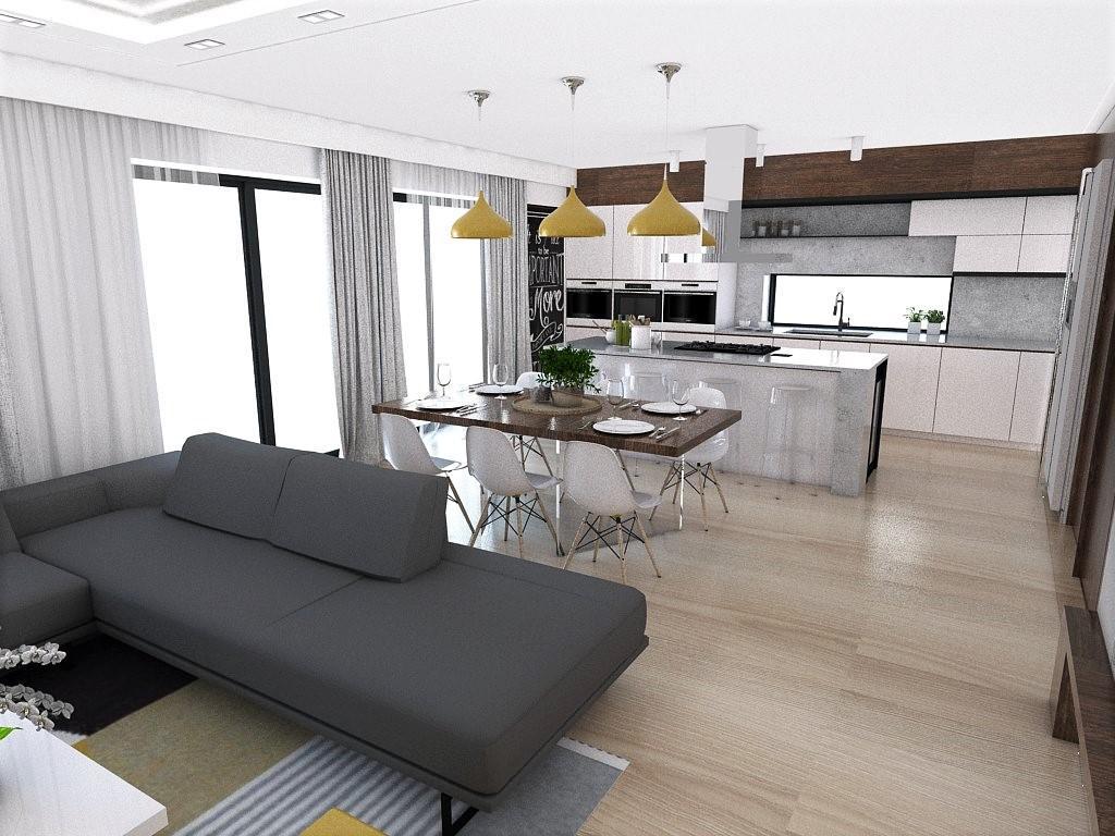 Kuchyňo- obývačky, vizualizácie - Obrázok č. 151
