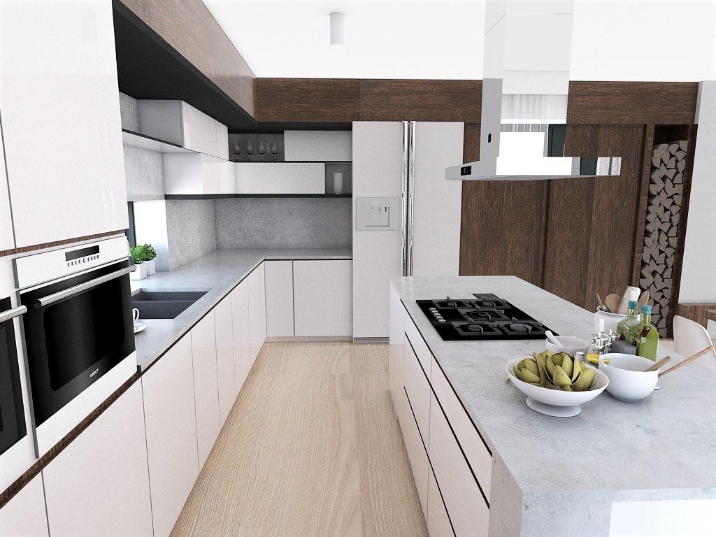 Kuchyňo- obývačky, vizualizácie - Obrázok č. 156