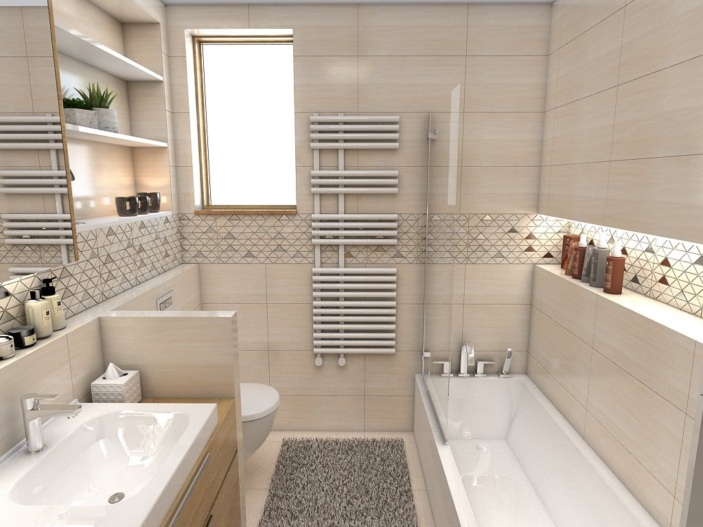 Kúpeľne- vizualizácie - Obrázok č. 87