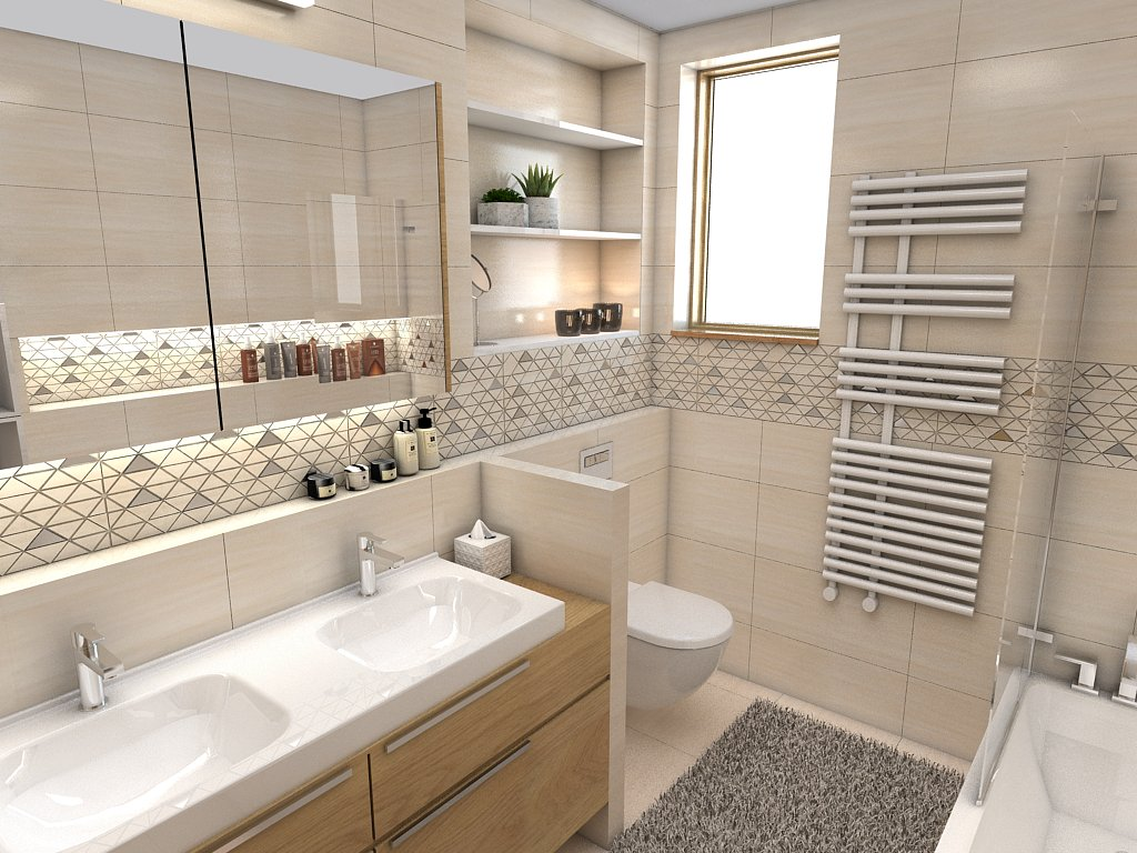 Kúpeľne- vizualizácie - Obrázok č. 88