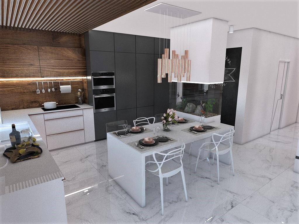 Kuchyňo- obývačky, vizualizácie - Obrázok č. 163