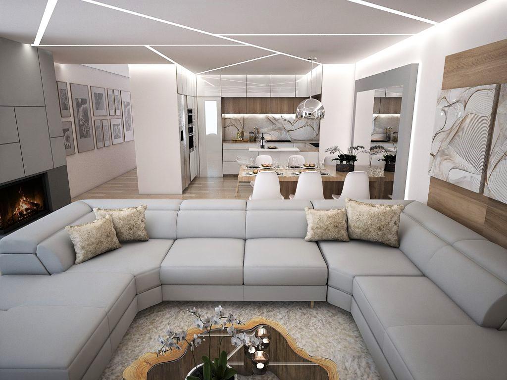 Kuchyňo- obývačky, vizualizácie - Obrázok č. 7