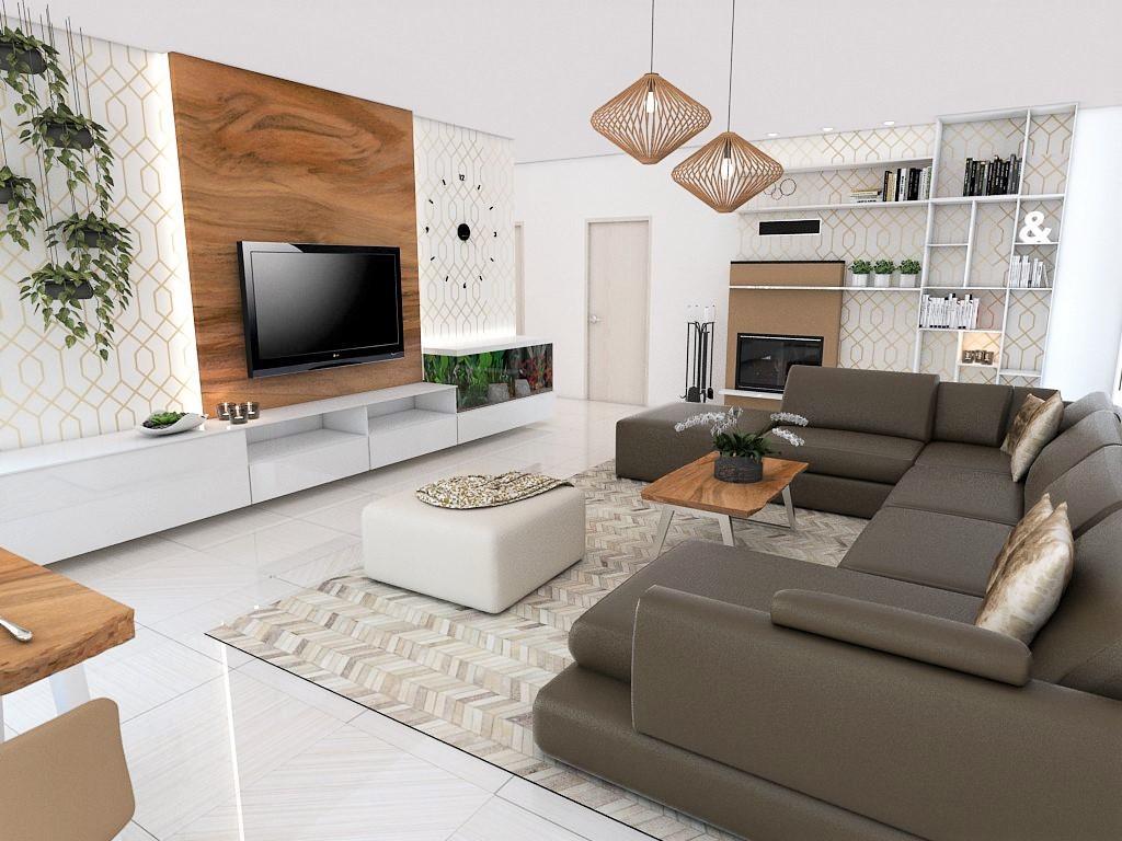 Obývačky- vizualizácie - Obrázok č. 56