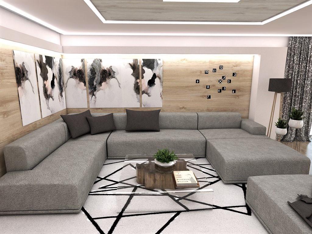 Kuchyňo- obývačky, vizualizácie - Obrázok č. 174