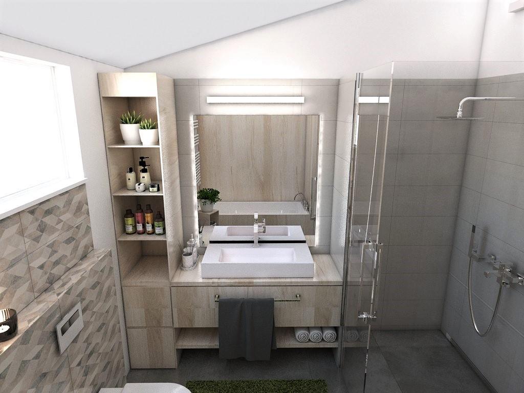 Kúpeľne- vizualizácie - Obrázok č. 97